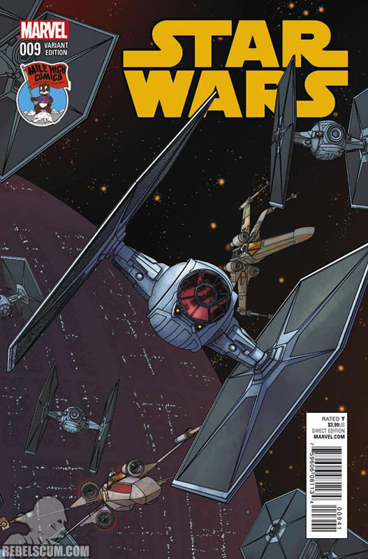 Star Wars 9 (Mike McKone Mile High Comics variant)
