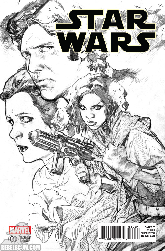 Star Wars 9 (Stuart Immonen sketch variant)