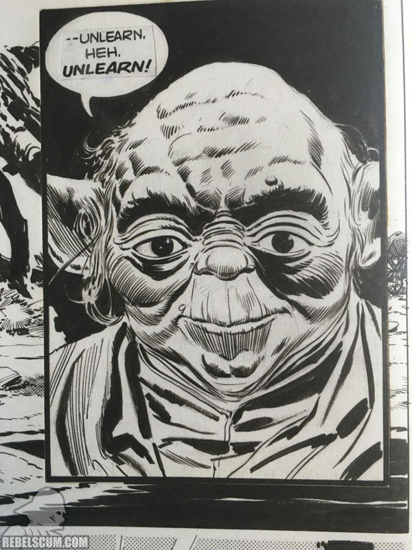 Star Wars: The Empire Strikes Back Artist Edition (Page Detail)