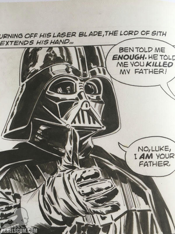 Star Wars: The Empire Strikes Back Artist Edition (Edited Page Detail)