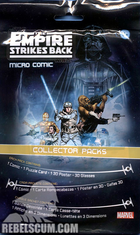 Micro Comic Pack – The Empire Strikes Back