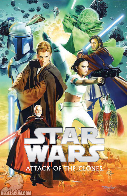 Episode II – Attack of the Clones Original Graphic Novel Hardcover