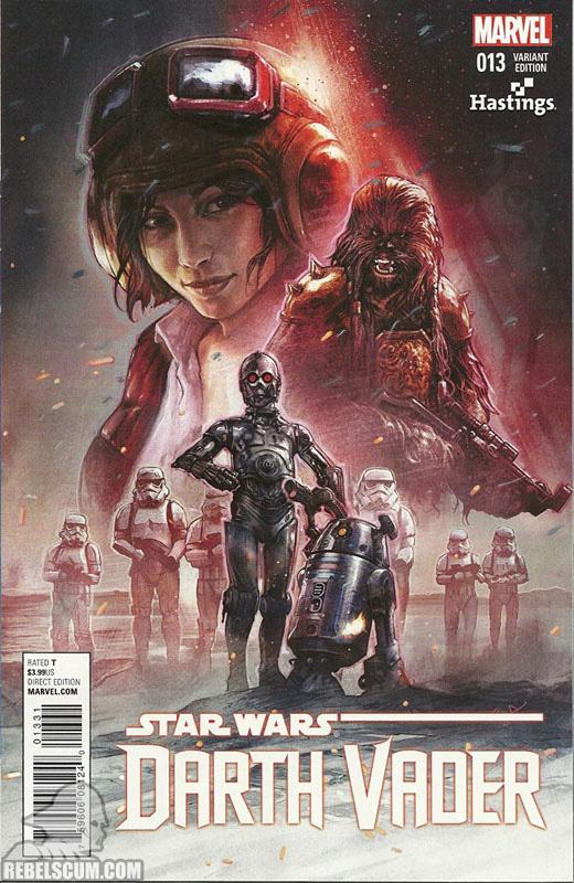 Darth Vader 13 (Aleksi BriclotHastings variant)