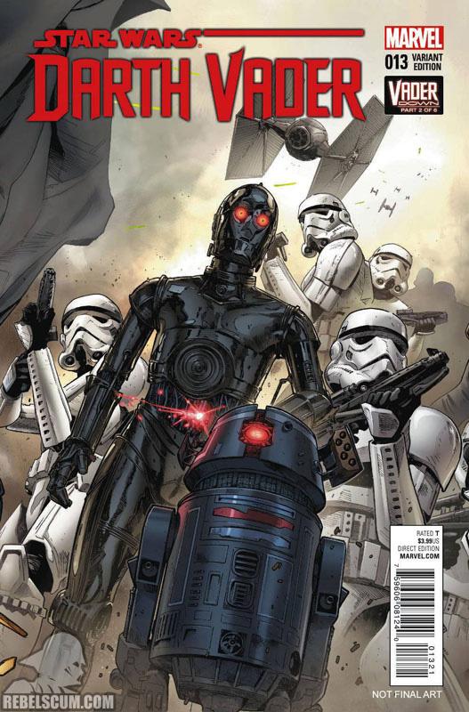 Darth Vader 13 (Clay Mann Connecting Variant B)