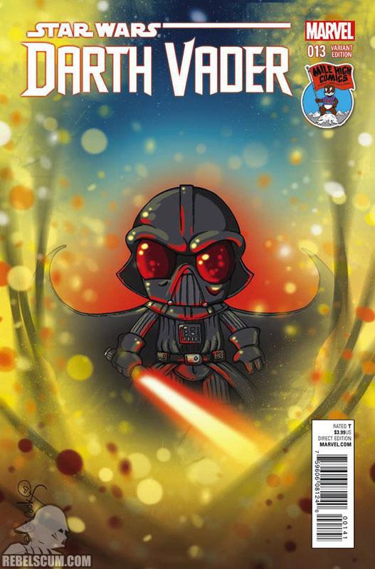 Darth Vader 13 (Katie Cook Mile High variant)