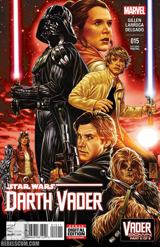 Darth Vader 15 (2nd printing - February 2016)