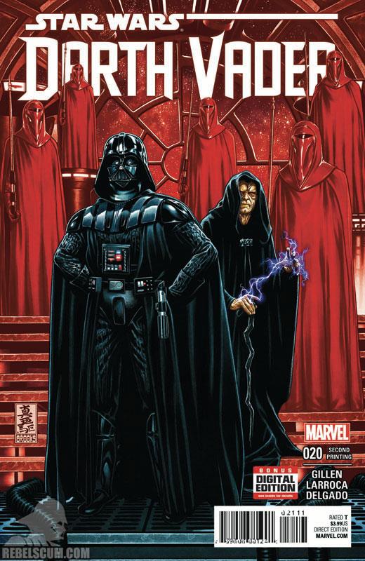 Darth Vader 20 (2nd printing - September 2016)