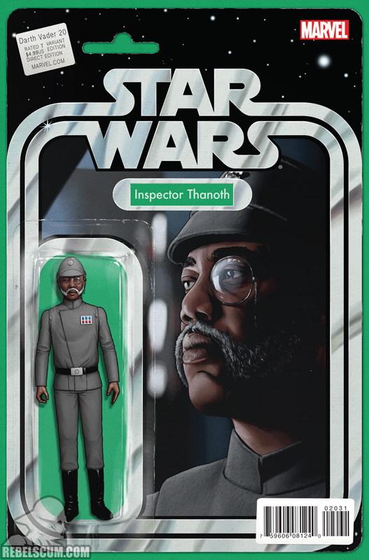 Darth Vader 20 (John Tyler Christopher Action Figure variant)