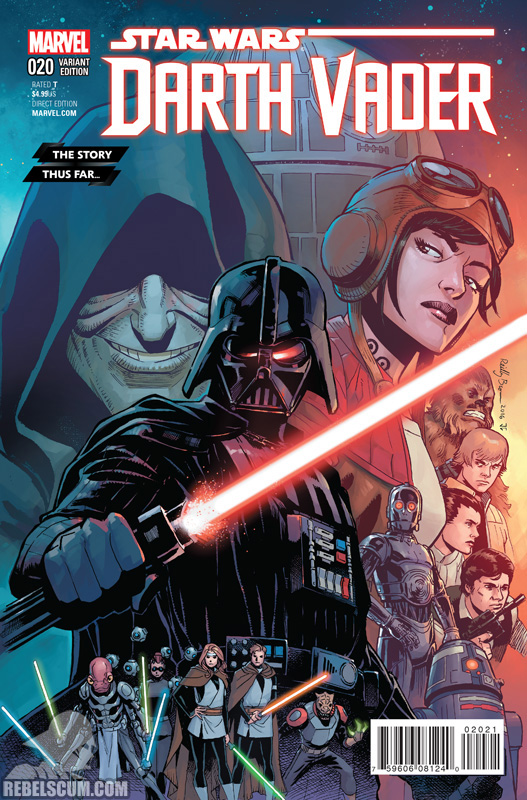 Darth Vader 20 (Reilly Brown The Story Thus Far... variant)