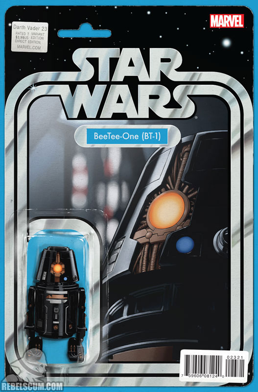 Darth Vader 23 (John Tyler Christopher Action Figure  variant)