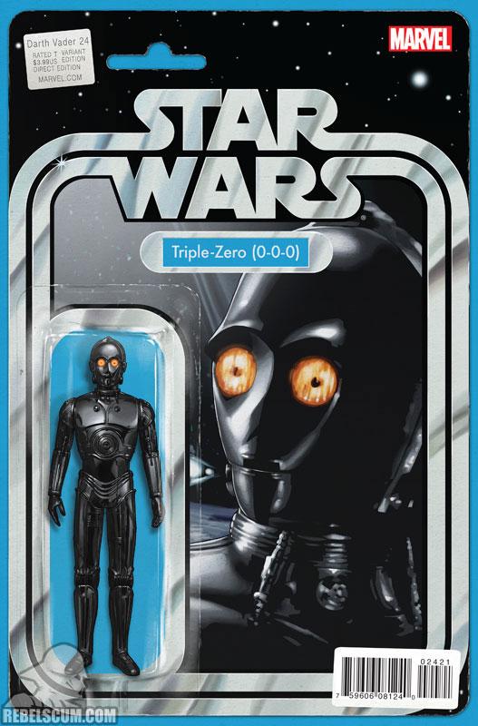 Darth Vader 24 (John Tyler Christopher Action Figure  variant)