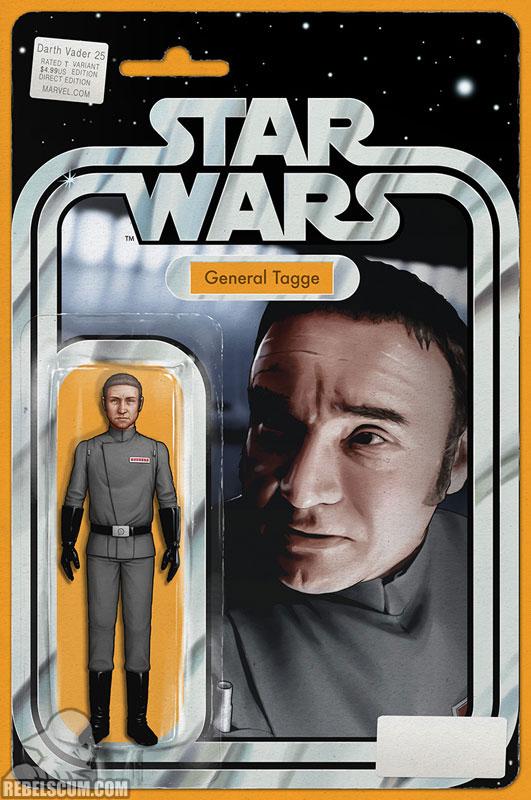 Darth Vader 25 (John Tyler Christopher Most Good Hobby Action Figure variant)