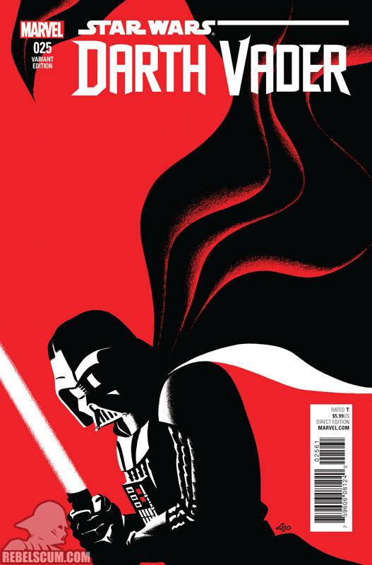 Darth Vader 25 (Michael Cho variant)