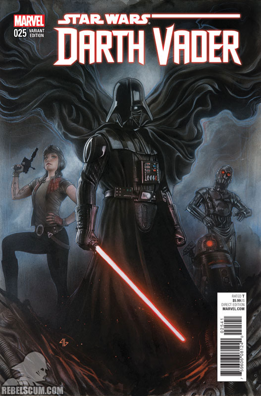 Darth Vader 25 (Adi Granov variant)