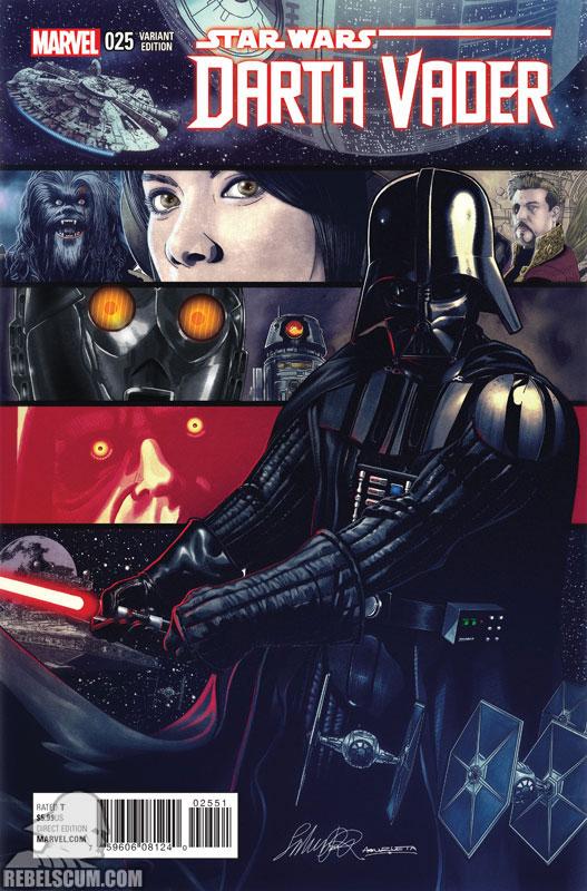 Darth Vader 25 (Salvador Larroca variant)