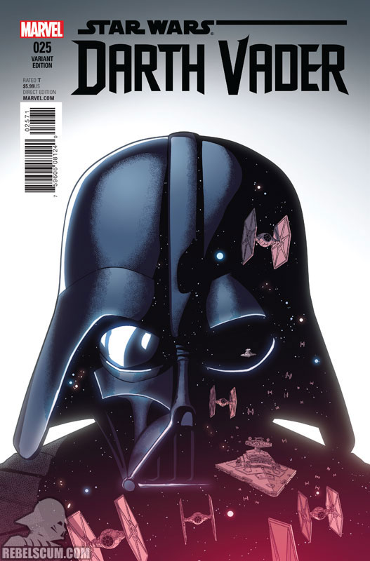 Darth Vader 25 (Jamie McKelvie variant)