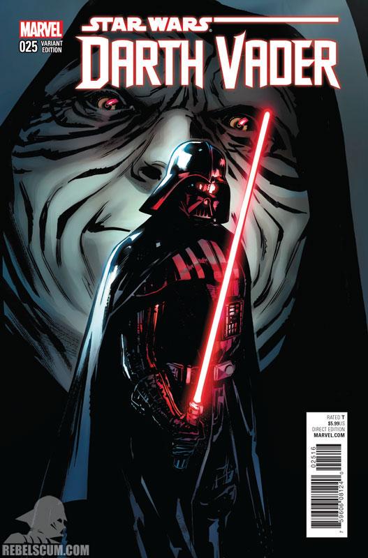 Darth Vader 25 (Sara Pichelli variant)