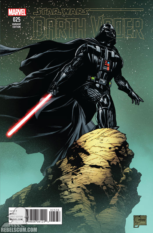 Darth Vader 25 (Joe Quesada variant)