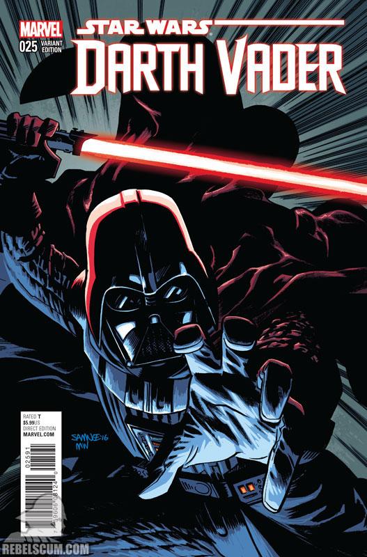 Darth Vader 25 (Chris Samnee variant)