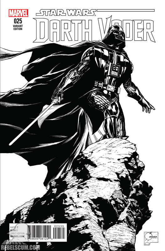 Darth Vader 25 (Joe Quesada sketch variant)