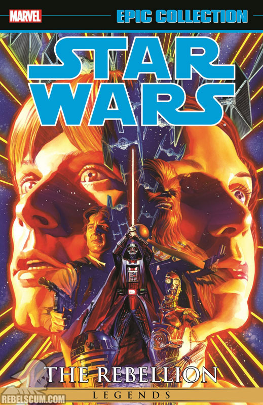 Star Wars Legends Epic Collection: The Rebellion Trade Paperback #1
