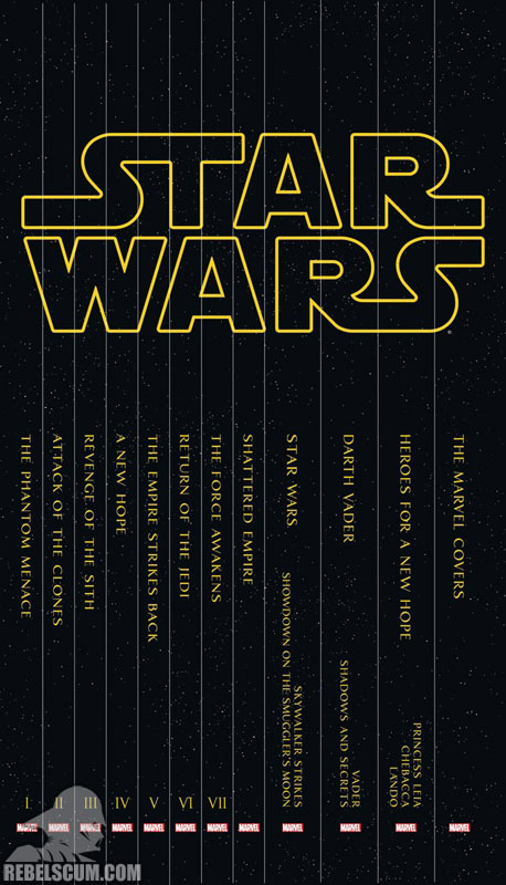 Star Wars Box Set Slipcase