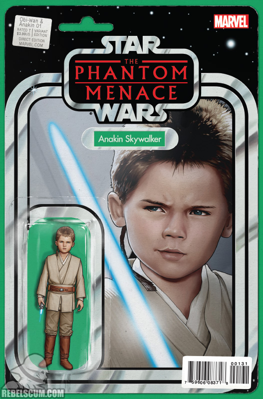 Obi-Wan and Anakin 1 (John Tyler Christopher Action Figure variant)