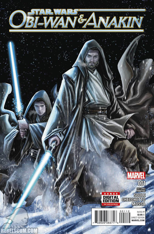 Obi-Wan abd Anakin 1 (2nd printing - January 2016)