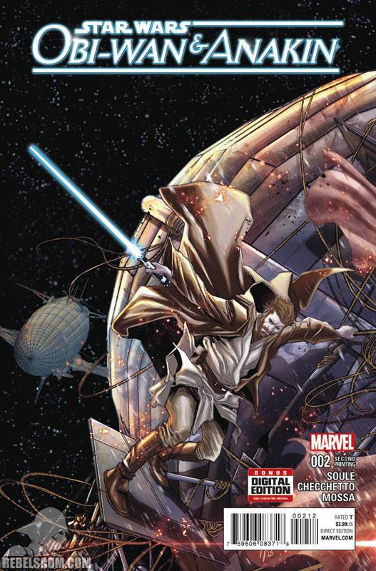 Obi-Wan abd Anakin 2 (2nd printing - March 2016)
