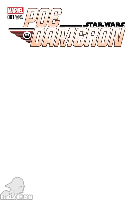 Poe Dameron 1 (Blank variant)
