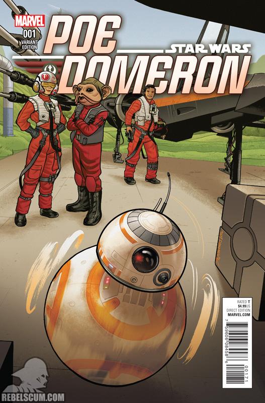 Poe Dameron 1 (Joe Quinones BB-8 variant)