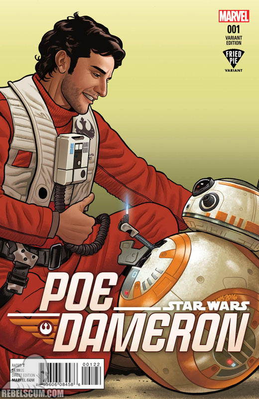 Poe Dameron 1 (Joe Quinones Fried Pie variant)