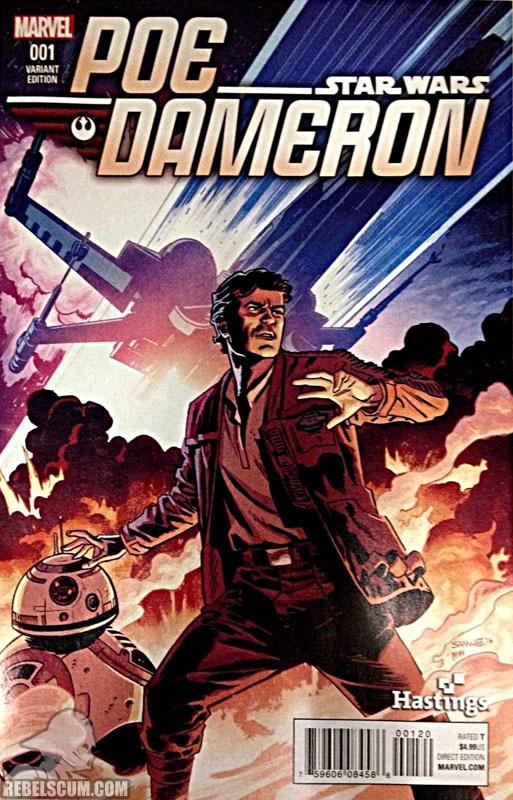 Poe Dameron 1 (Chris Smanee Hastings variant)