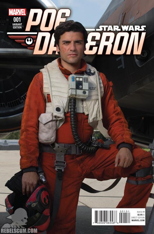 Poe Dameron 1 (Movie photo variant)