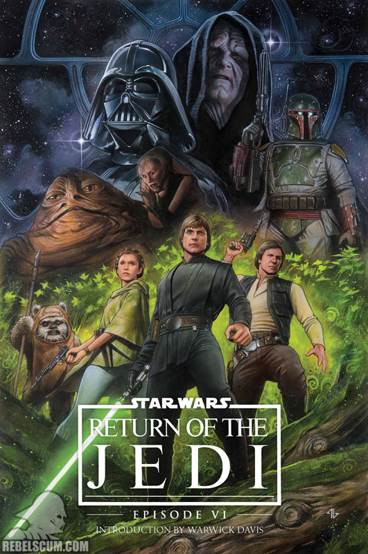 Return of the Jedi Original Graphic Novel Hardcover