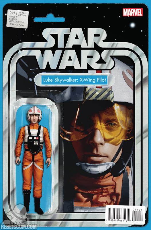 Star Wars 11 (John Tyler Christopher action figure variant)