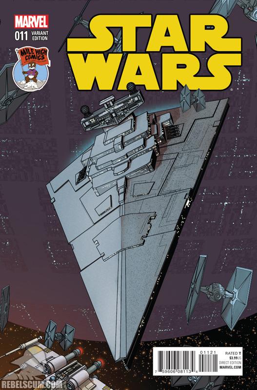 Star Wars 11 (Mike McKone Mile High Comics variant)