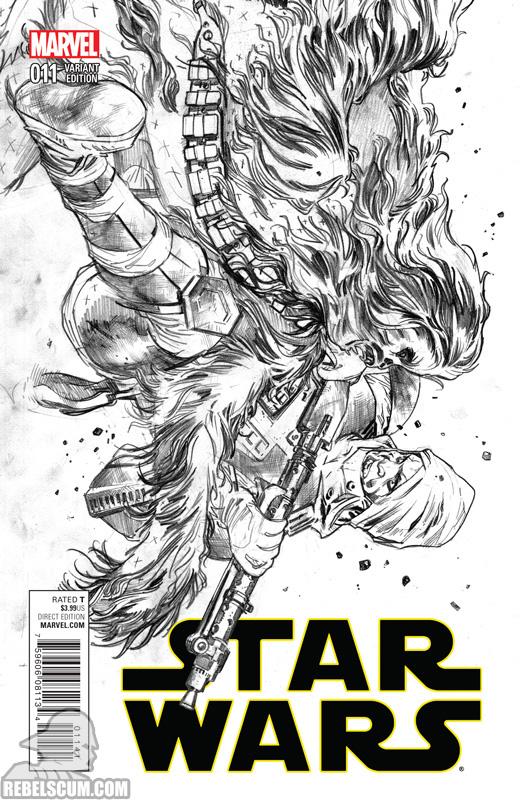 Star Wars 11 (Stuart Immonen sketch variant)