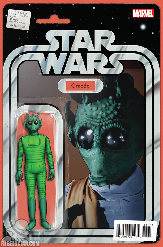 Star Wars 12 (John Tyler Christopher action figure variant)