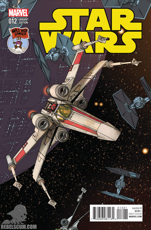 Star Wars 12 (Mike McKone Mile High Comics variant)