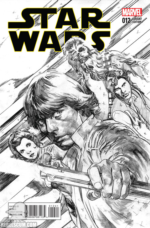Star Wars 12 (Stuart Immonen sketch variant)