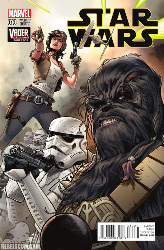 Star Wars 13 (Clay Mann Connecting Variant C)