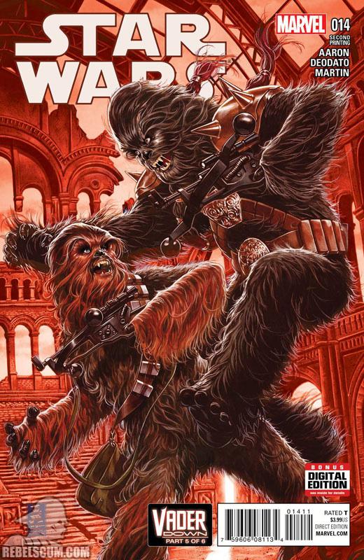 Star Wars 14 (2nd printing - January 2016)