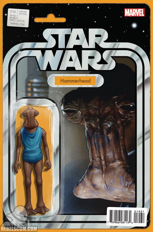 Star Wars 14 (John Tyler Christopher Action Figure variant)