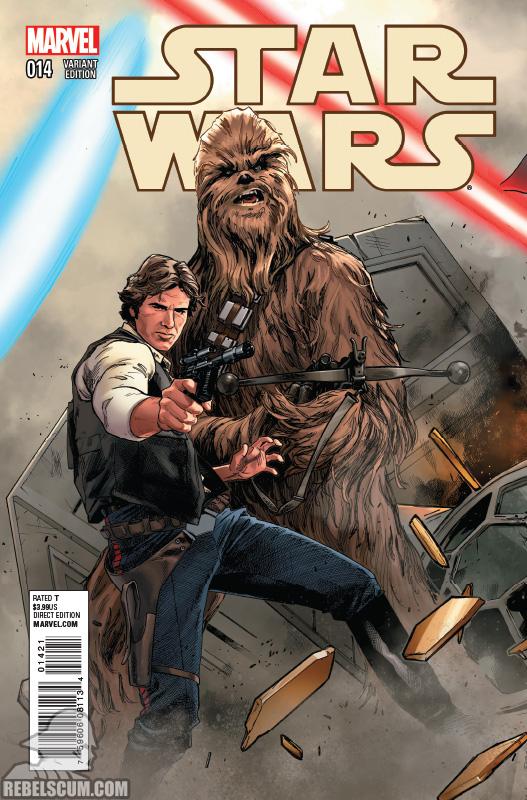 Star Wars 14 (Clay Mann Connecting Variant E)