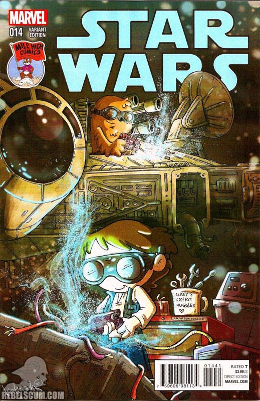 Star Wars 14 (Katie Cook Mile High variant)