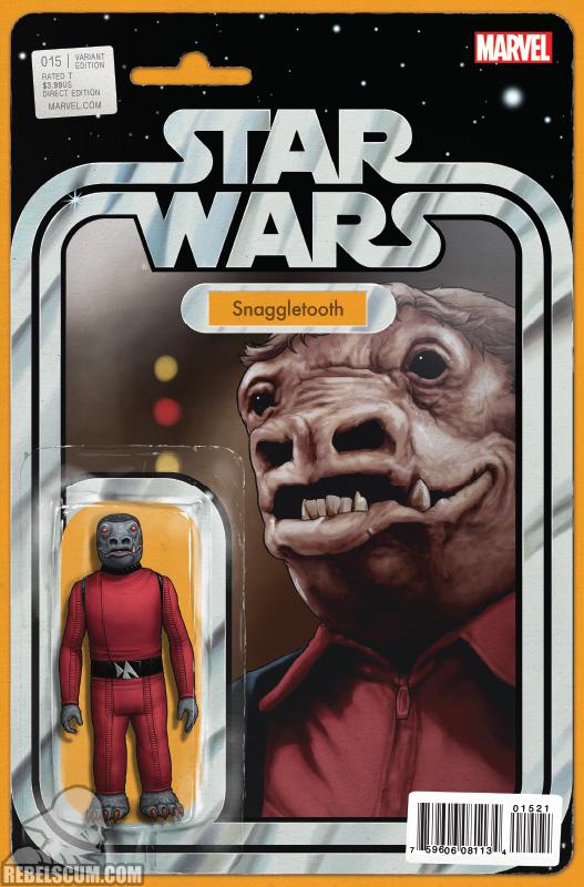 Star Wars 15 (John Tyler Christopher Action Figure variant)