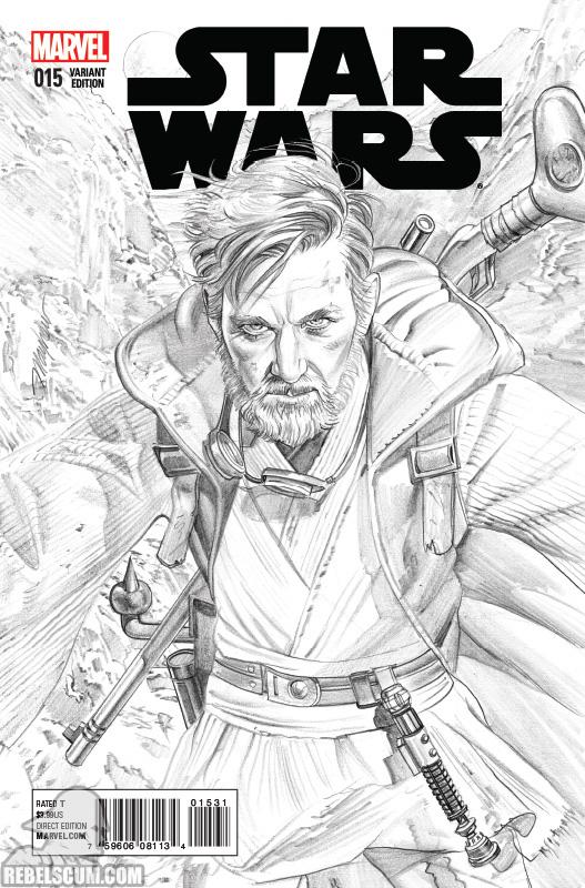 Star Wars 15 (Mike Mayhew sketch variant)