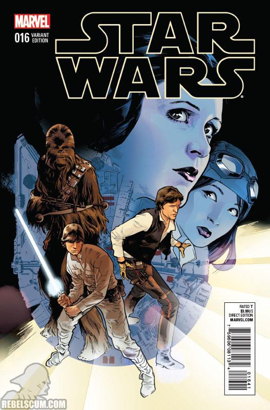 Star Wars 16 (Stuart Immonen variant)