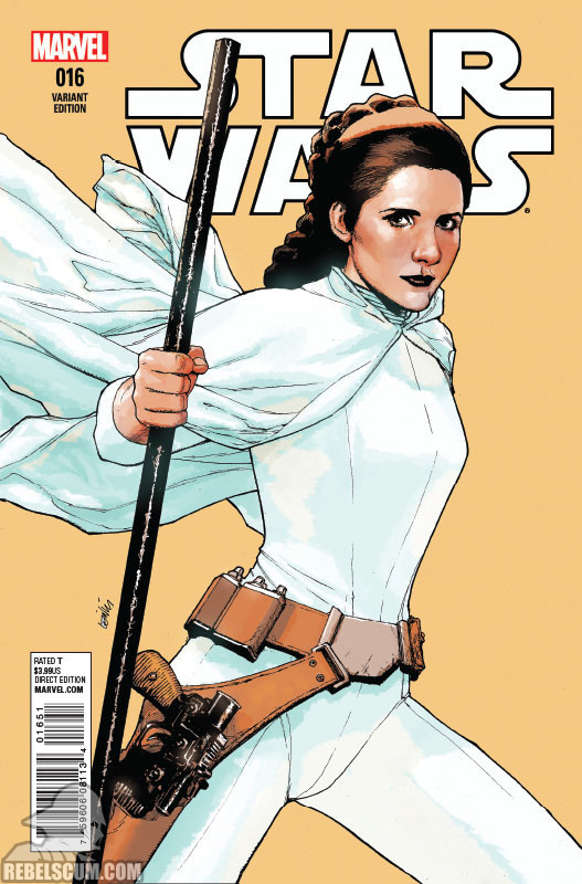 Star Wars 16 (Leinil Yu variant)